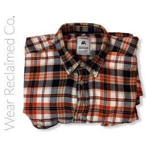 LERROS Vichy Checked Button Down Flannel Shirt